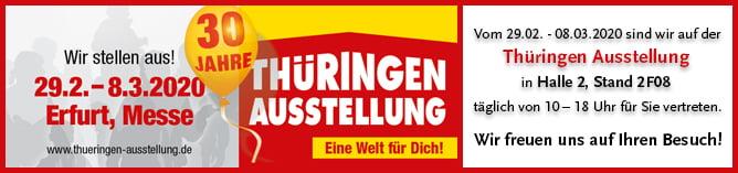Messe Erfurt Thueringer Ausstellung