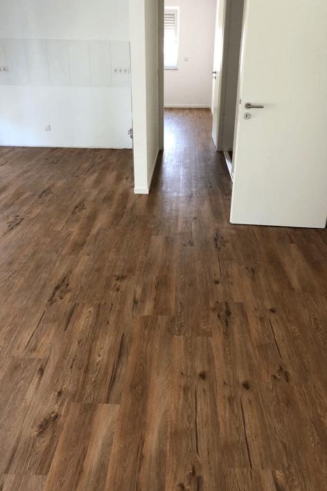 Designboden Project Floors Bodenbelag verlegt in Neubau